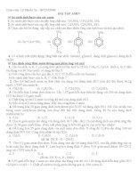 Bài tập về amin ppt