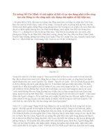 Tài liệu Tư tưởng Hồ Chí Minh: Tư tưởng Hồ Chí Minh về chủ nghĩa xã hội và sự vận dụng phát triển sáng tạo của Đảng ta vào công cuộc xây dựng chủ nghĩa xã hội hiện nay ppt