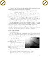 Giáo trình hướng dẫn cách tiêu hóa thức ăn ở động vật có vú và động vật bò sát phần 3 pdf