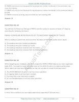 Oracle Database 10g Administration ii Practice TestVersion phần 5 pdf