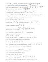 Bài tập chứng minh bất đẳng thức pot