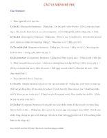 Ngữ pháp Tiếng Anh thông dụng: CÂU VÀ MỆNH ĐỀ PHỤ pot