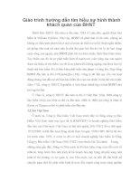 Giáo trình hướng dẫn tìm hiểu sự hình thành khách quan của BHNT phần 1 ppsx