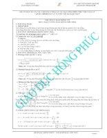 Chuyên đề dao động cơ học luyện thi đại học môn vật lý