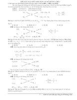 Giải bài toán hỗn hợp bằng sơ đồ đường chéo ppt