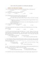 ĐỀ CƯƠNG ÔN TẬP MÔN TƯ TƯỞNG HỒ CHÍ MINH PHẦN 1: CÂU HỎI TRẮC NGHIỆM pps