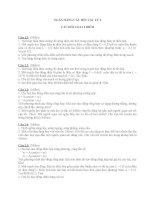 Ngân hàng câu hỏi vật lý 2 docx