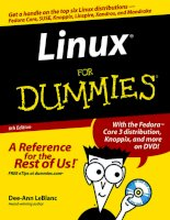Linux For Dummies 6th Edition phần 1 pps