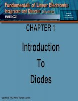 CHAPTER 1 : Introduction To Diodes ppt