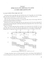 Tính toán thực hành cấu kiến bê tông theo tiêu cuẩn TCXDVN 356 2005 Tập 1 - Chương 4 docx