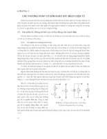 Nguyên lí kỹ thuật điện tử ( Nxb Giáo Dục 2005 ) - Chương 3 ppt