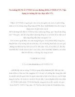 Tài liệu Tư tưởng Hồ Chí Minh: Tư tưởng HCM về CNXH và con đường đi lên CNXH ở VN ppt