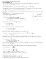 Bài tập trắc nghiệm sóng ánh sáng ppt