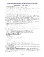 Tài liệu ôn thi Đại học  Cao đẳng môn Ngữ văn (Phần Nghị luận xã hội )
