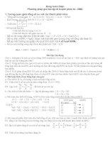 Phương pháp giải bài tập di truyền phân tử pdf