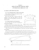 Tính toán thực hành cấu kiến bê tông theo tiêu cuẩn TCXDVN 356 2005 Tập 1 - Chương 5 pptx