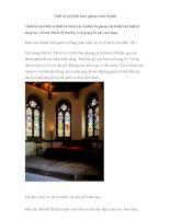 Thiết kế nội thất theo phong cách Gothic ppt
