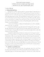 SÁNG KIẾN KINH NGHIỆM NÂNG CAO CHẤT LƯỢNG DẠY HỌC TOÁN NỘI DUNG CÁC YẾU TỐ HÌNH HỌC LỚP 3