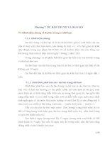 Chương 7. DỰ BÁO TRUNG VÀ DÀI HẠN 7.1 Khái niệm chung về dự báo trung và dài potx