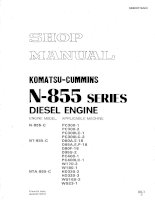 Cummins Engine Shop Manual Part 1 pdf