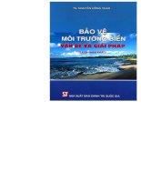 Bảo vệ môi trường biển vấn đề và giải pháp part 1 ppt
