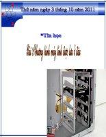 Giáo án điện tử tiểu học: Chương trình máy tính lưu ở đâu pdf