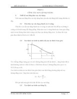 Đồ án kĩ thuật thi công (phần đất) pdf