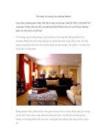 Sắc màu ấn tượng cho phòng khách ppt