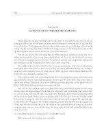 Giáo trình quy hoạch và thiết kế hệ thống thủy lợi - Chương 16 pdf