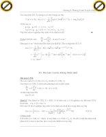 Giáo trình hướng dẫn cách vận dụng toán tử divergence trong chứng minh trường vecto phần 4 doc