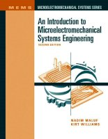 An Introduction to MEMs Engineering - Nadim Maluf and Kirt Williams Part 1 doc