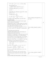 GIÁO ÁN HÌNH HỌC CƠ BẢN LỚP 10 - PHẦN 5 ppsx