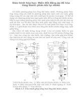 Giáo trình hóa học: Biến đổi đẳng áp để hóa lỏng thành phần khí tự nhiên phần 1 potx