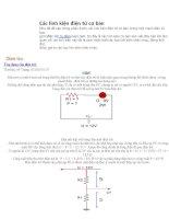 Các linh kiện điện tử cơ bản: dien tro, tu dien,cuon cam. pdf