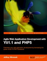 Agile Web Application Development with Yii 1.1 and PHP5 phần 1 pdf