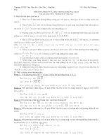 Các dạng phương trình mặt phẳng trong không gian ppsx