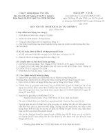 CÔNG TY CHỨNG KHOÁN CHỢ LỚN - BẢN THUYẾT MINH BÁO CÁO TÀI CHÍNH QUÝ 1 NĂM 2011 potx