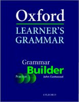 OXFORD LEARNER''''S GRAMMAR - PART 1 pps