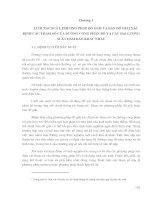CÁC PHƯƠNG PHÁP THỐNG KÊ TRONG THUỶ VĂN - CHƯƠNG 3 pps