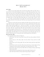 Vận hành thiết bị cơ bản đƣợc sử dụng trong công nghiệp chế biến dầu khí - Bài 5 pdf