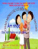 Dạy hát niềm vui gia đình docx