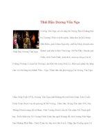Danh nhân lịch sử: Thái Hậu Dương Vân Nga ppsx