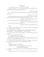 tổng hợp và giải các bài tập ngữ pháp văn học lớp 9