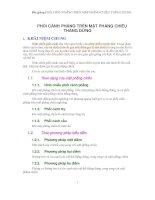 Bài giảng VẼ PHỐI CẢNH PHẲNG TRÊN MẶT PHẲNG CHIẾU THẲNG ĐỨNG ppsx