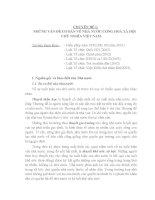 Tài liệu ôn thi công chức chuyên ngành luật