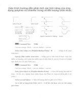 Giáo trình hướng dẫn phân tích các tính năng của ứng dụng polyline và chamfer trong vẽ đối tượng chân khúc phần 1 pptx