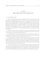 Giáo trình quy hoạch và thiết kế hệ thống thủy lợi - Chương 13 ppt