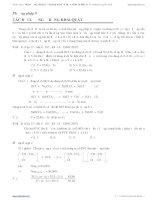 10 PHƯƠNG PHÁP GIẢI NHANH BÀI TẬP TRẮC NGHIỆM HÓA HỌC: Phương pháp 9 ppt