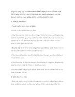 Cấp Giấy phép quy hoạch theo khoản 3 Điều 9 Quyết định số 27/2011/QĐUBND ngày 30/8/2011 của UBND thành phố (thuộc thẩm quyền của Ban Quản lý các Khu công nghiệp và Chế xuất thành phố Hà Nội) pps