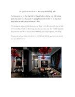 Sự quyến rũ của sắc đỏ và đen trong thiết kế nội thất pdf